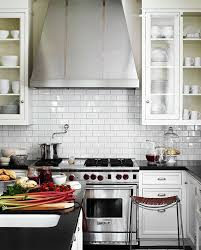 White Kitchen White Appliances by Kitchen Subway Tiles Are Back In Style U2013 50 Inspiring Designs