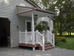 Back Porch Stairs Design Like It Very Small Porch U0026 Then Simple Wood Stairs I Wonder