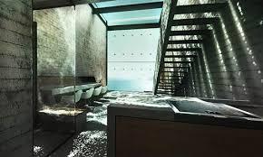 luxus küche luxus küche beton und modernes interieur mit sichtbetonwänden und