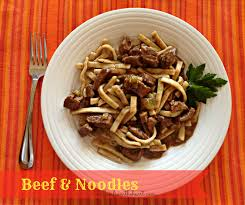 thanksgiving noodles recipe beef u0026 noodles an affair from the heart