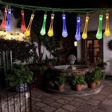 halloween yard lighting amazon com easydecor solar powered string lights 30 led 21ft 8