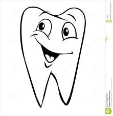 tooth coloring coloring pages free coloring book