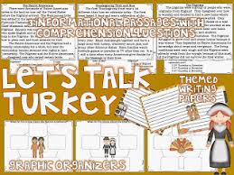 let s talk turkey informational text reading comprehension