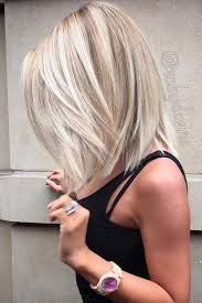 mid length blonde hairstyles medium length blonde bob 2017