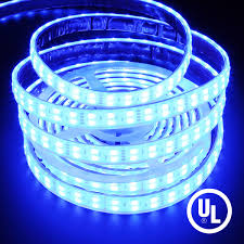waterproof double row color changing rgb 5050 144w led strip light
