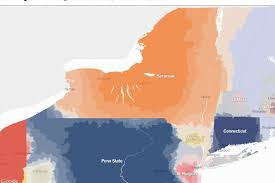 Syracuse Zip Code Map by New York Times Map The Branding Worked Syracuse Is New York U0027s
