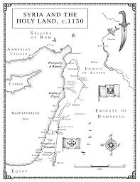 Map Of Syria by Map Of Syria And The Holy Land Jack Hight