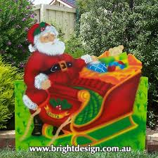 Outdoor Christmas Decorations Sleigh by Bright Design Section 01 Santa Sleigh Outdoor Christmas Displays