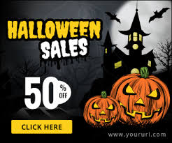Halloween Sales Html5 Halloween Banners Gwd 7 Sizes By Doto Codecanyon