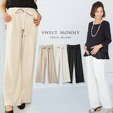 maternity trousers maternity trousers with elastic and belt at waist sweet