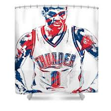 Okc Thunder Home Decor Oklahoma City Thunder Shower Curtains Fine Art America