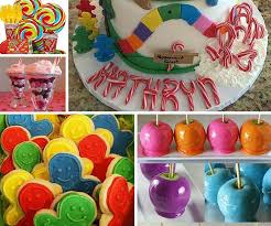 candyland theme candyland party ideas kids party ideas at birthday in a box