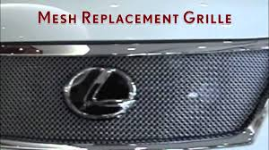 lexus sc430 singapore jm custom creations mesh grill youtube