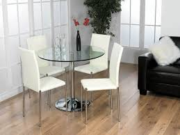Glass Table Dining Room Sets by Dining Tables Stunning Small Round Glass Dining Table Round Glass