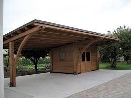 tettoia legno auto tettoia in legno per auto profilati alluminio