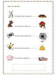 habitat worksheet for grade 4 worksheets aquatechnics biz