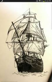 part 1 watercolor line drawing painting a boat watercolors