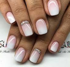 White Pink Nail 35 Really Chic Pink Nail Designs 2017