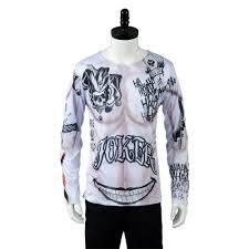 popular cosplay joker costume shirt buy cheap cosplay joker