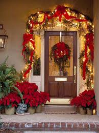 Christmas Window And Door Decorations by Get Inspired Christmas Decor Ideas Poinsettia Porch And Front