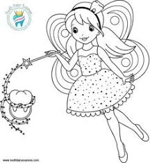 coloring pages for tooth fairy drawings pinterest tooth