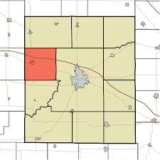 Time Zone Map Indiana by Wayne Township Montgomery County Indiana Wikipedia