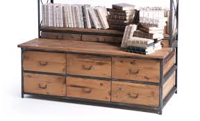 metal and wood bookcase american hwy
