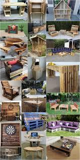 Pallet Patio Furniture Ideas by Diy Wonderful Wooden Pallets Ideas Dearlinks