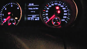 volkswagen dashboard vw golf 6 tdi interior ligths the dashboard ac and others at