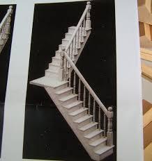 bausatz treppe treppe bausatz für puppenstuben 1 12 unbehandeltes holz bis 28