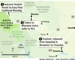 Winthrop Washington Map by Innate Wisdom U0027 Led Teen To Safety After Plane Crash The Seattle