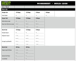 Beast Meal Plan Spreadsheet 7 Ways To Prep For Beast Tara S Porter