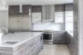 cuisine acrylique armoires de cuisine portes en acrylique et mélamine structurée