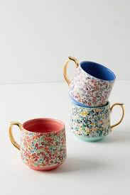 Porcelain Coffee Mugs Liberty For Anthropologie Mugs Coffee Mugs U0026 Teacups