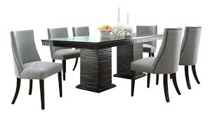 cheap 7 piece dining table sets espresso dining set shaker espresso 6 piece dining table set with