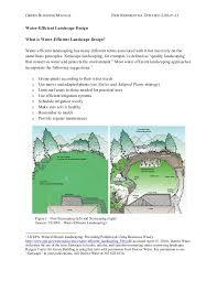 water efficient landscape design new jersey green building manual