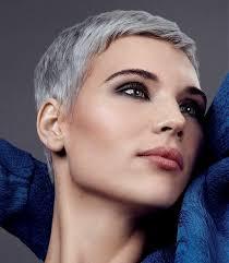 women in forties and grey hair grey hairstyles