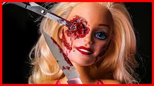 diy barbie doll scary horror fx makeup halloween party youtube