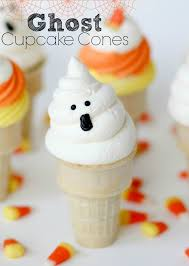ghost cupcake cones recipe confessions of a cookbook queen