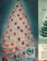aluminum christmas tree artificial christmas trees a vintage catalog extravaganza