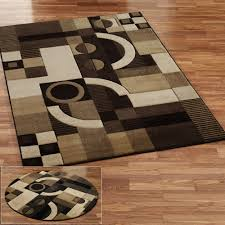 Red White Black Rug Area Rugs Marvelous Brown Round Area Rugs For Modern Flooring