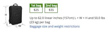 Checked Bags United United Gets Punitive With Their Basic Economy Fares One Mile At