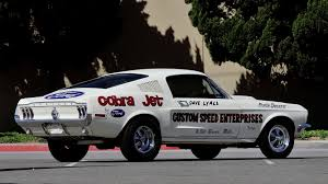 2016 Cobra Mustang 1968 Ford Mustang Cobra Jet Lightweight S113 Chicago 2016