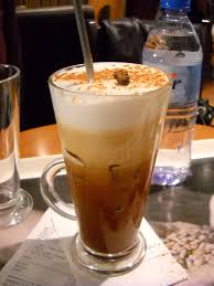 iced espresso macchiato freddo cappuccino yummies pinterest italian cafe coffee and