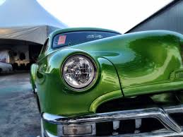 hid lights for classic cars back to the 50 s car show halogen sealed beams everywhere