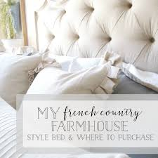 plum prettymy french country farmhouse style bed by hooker furniture u2014