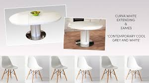 white round extendable dining table and chairs white gloss round extending dining table set