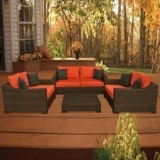 Wicker Patio Conversation Sets Conversation Patio Furniture Sets Foter
