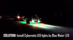 installing led lights on boat boat trailer backup lighting system by blue water led youtube