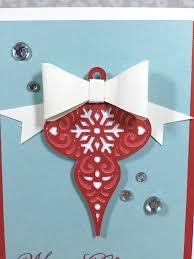 courtney lane designs cricut christmas bauble card